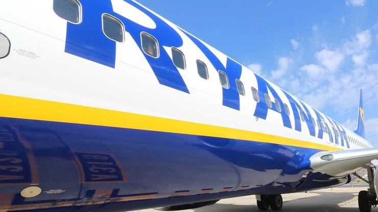 Awaryjne lądowanie samolotu Ryanair lecącego do Polski. Alarm bombowy