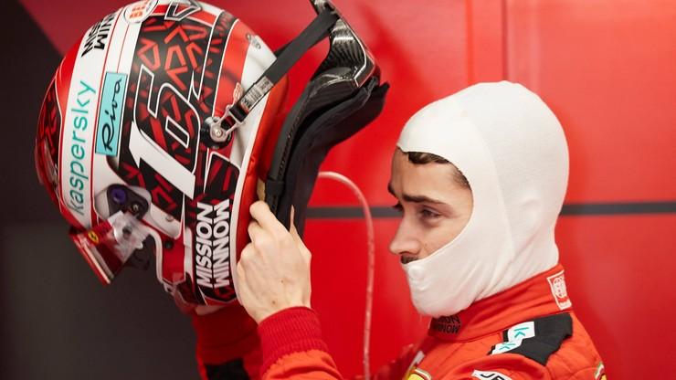 Leclerc pędził sportowym Ferrari po ulicach Monako