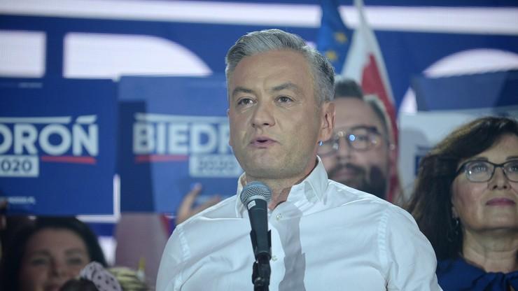 Był prezydentem Słupska. Jaki wynik w mieście osiągnął Robert Biedroń?