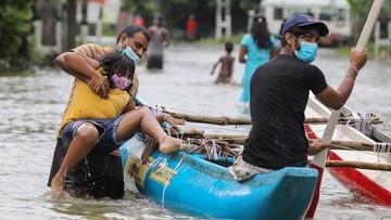Powódź i lawiny błotne zabiły sześć osób. 5 tys. osób straciło domy