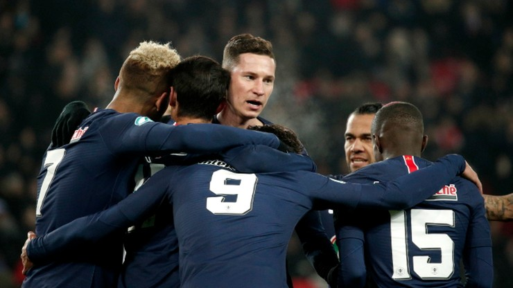 Puchar Francji: Pewny triumf PSG. Kontuzja Neymara