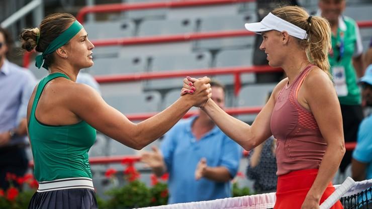 WTA w Montrealu: Wozniacki odpadła w II rundzie
