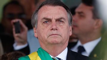 """Prezydent Brazylii wsparł Trumpa. """"Widziałem wszystko"""""""