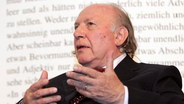 Zmarł Imre Kertesz. Węgierski laureat literackiej Nagrody Nobla