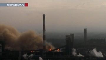 Huta stali zatruwa Kraków. Raport o 15 awariach i 5 dodatkowych tonach pyłu w atmosferze