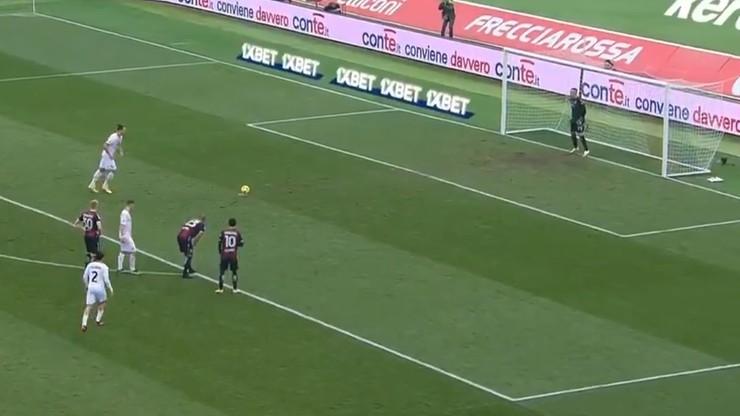 Serie A: Łukasz Skorupski obronił rzut karny Zlatana Ibrahimovicia (WIDEO)