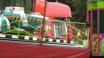 Wypadek w lunaparku w Szczytnie. Nie żyje 9-latek