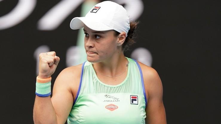 WTA w Dausze: Półfinałowa porażka Barty