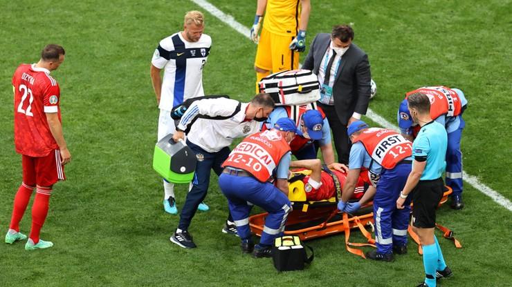 Euro 2020: Mario Fernandes trafił do szpitala