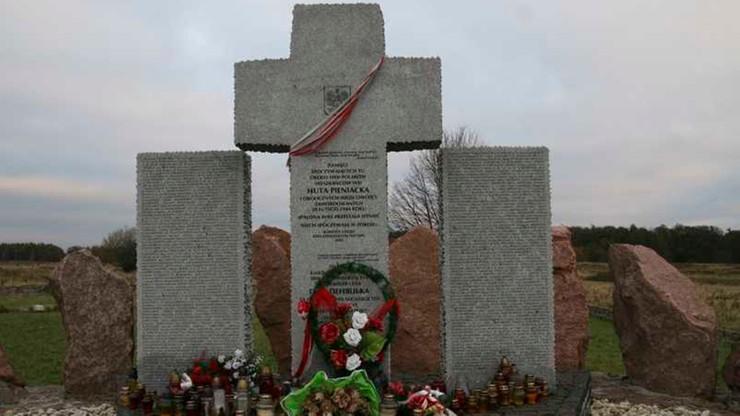 Ukraina planuje ekshumacje polskich ofiar zbrodni w Hucie Pieniackiej