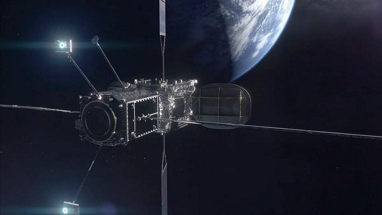 Na orbicie dzieje się historia. Pojazd serwisowy uzupełnia paliwo w satelicie
