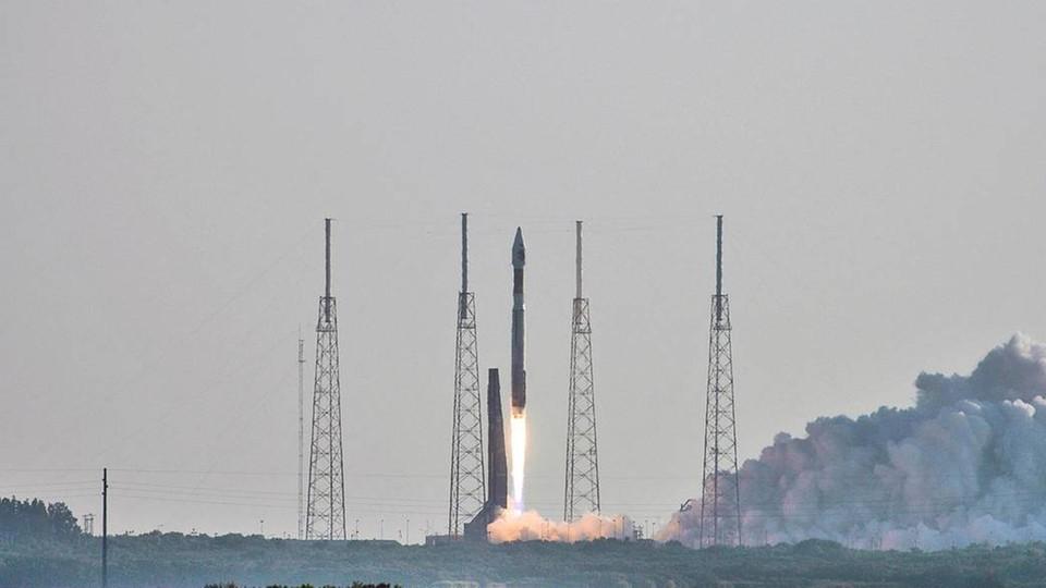 Start rakiety z sondą marsjańską