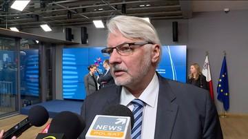 Waszczykowski: Saryusz-Wolski to jedyny polski kandydat. Kaczyński: Tusk to kandydat niemiecki