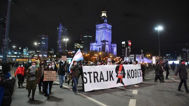 Strajk Kobiet. Protesty po publikacji uzasadnienia wyroku TK ws. aborcji