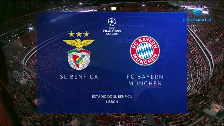 Benfica - Bayern Monachium. Skrót meczu