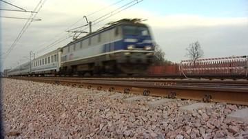 Katastrofa była blisko. Pod Malborkiem pociąg uderzył w stertę kamieni ułożoną na torach
