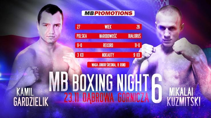 MB Boxing Night 6: Niepokonani pięściarze bohaterami kolejnej walki