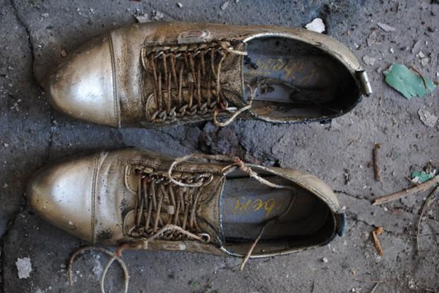 Te buty należały do ofiary