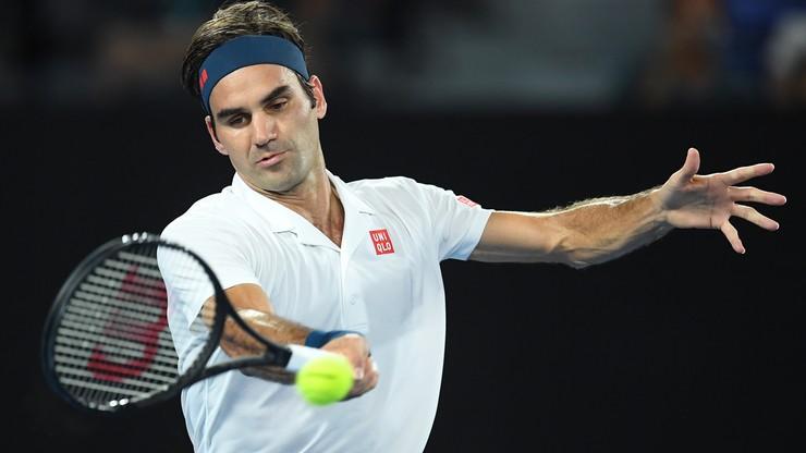 Australian Open: Federer wygrał jubileuszowy mecz