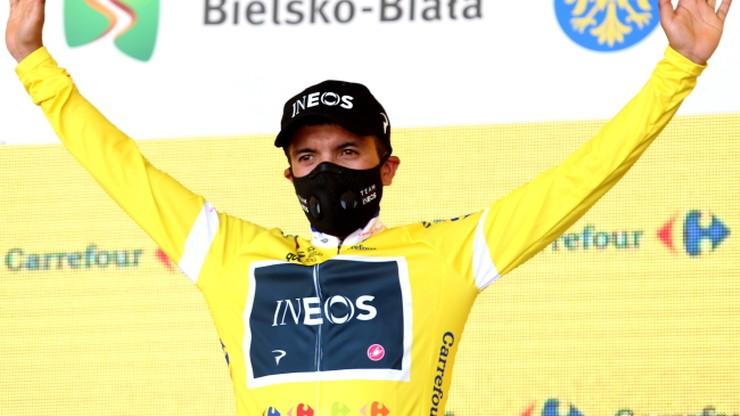 Tour de Pologne: Richard Carapaz wycofał się z wyścigu