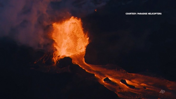 Kolejna erupcja wulkanu Kilauea na Hawajach