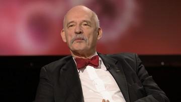 Korwin-Mikke spowodował kolizję bez ważnego prawa jazdy? Opublikował dokument