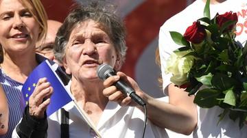 """Uczestniczka Powstania: przyszłam na """"Marsz Wolności"""", by prosić o pomoc dla najsłabszych"""