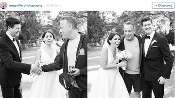 Tom Hanks przerwał sesję ślubną, bo chciał selfie z nowożeńcami