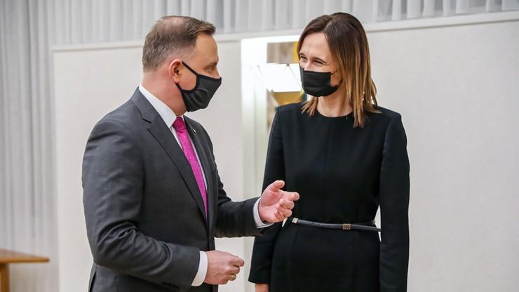 Przewodnicząca Sejmu Litwy zakażona koronawirusem. We wtorek spotkała się z Andrzejem Dudą