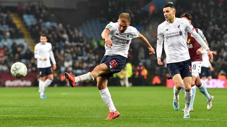 Carabao Cup: Aston Villa rozbiła młodzieżowy Liverpool