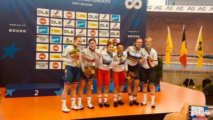 MME w kolarstwie torowym: Trzy medale Polaków w pierwszym dniu