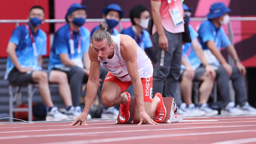 Tokio 2020: Karol Zalewski nie awansował do półfinału biegu na 400 m