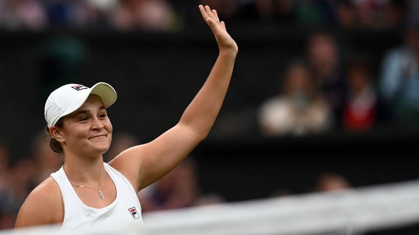 Wimbledon: Ashleigh Barty uzupełniła grono półfinalistek