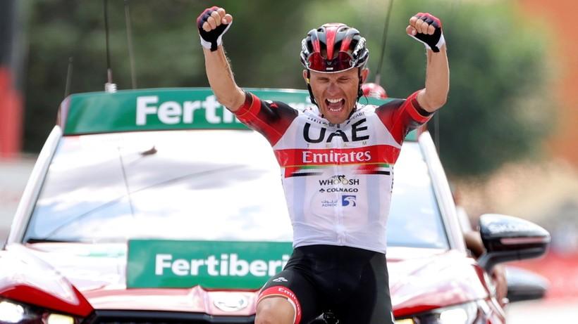 Vuelta a Espana: Rafał Majka wygrał 15. etap!