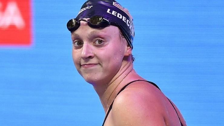Cztery zwycięstwa Katie Ledecky w pływackich mistrzostwach USA