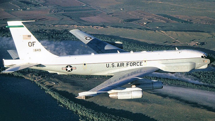 """Przechwycono samolot zwiadowczy USA nad Pacyfikiem. """"Zbliżał się do rosyjskiej granicy"""""""
