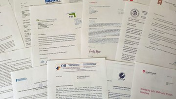 Związki nauczycielskie z całego świata popierają strajk nauczycieli w Polsce