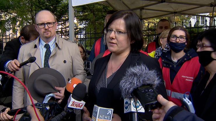 Kaja Godek prosi o ochronę policji. Złożyła zawiadomienie