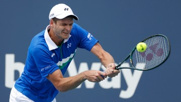 ATP w Miami: Hubert Hurkacz wyeliminował Milosa Raonicia! Polak w ćwierćfinale