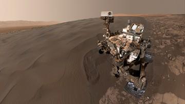 "Nowe ""selfie"" łazika Curiosity"
