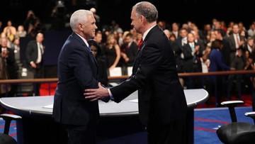 W debacie wiceprezydenckiej Kaine miał lepsze argumenty, a Pence styl