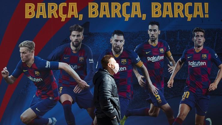 FC Barcelona pomaga władzom Katalonii. Zakupiono 30 tysięcy masek
