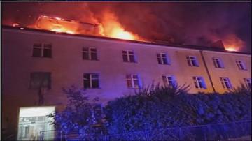 Pożar Domu Pomocy Społecznej w Lublinie. Ponad 100 osób ewakuowanych