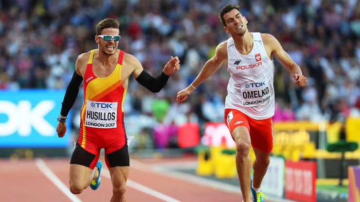 Lekkoatletyczne MŚ: Finał 400 m nie dla Rafała Omelko