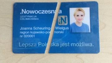 Joanna Scheuring-Wielgus odchodzi z Nowoczesnej