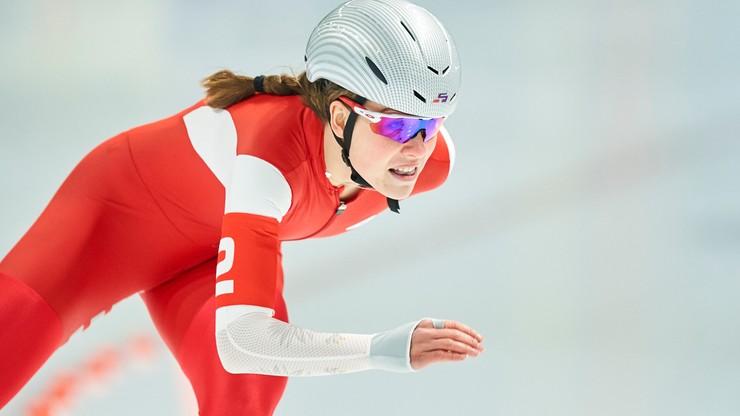 PŚ w łyżwiarstwie szybkim: Kaja Ziomek dziewiąta na 500 m