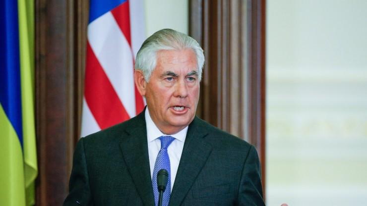 Tillerson: USA rozczarowane zastojem ws. wschodniej Ukrainy