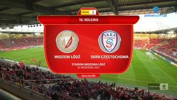 Widzew Łódź - Skra Częstochowa 4:0. Wszystkie bramki