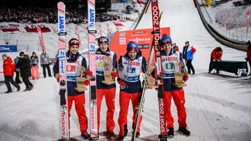 Pięć razy na podium. Tak reprezentacja Polski skakała w konkursach drużynowych w Zakopanem