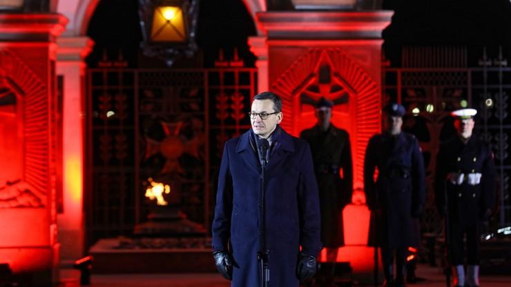Morawiecki podczas Apelu Pamięci: domagamy się ekstradycji Stefana Michnika